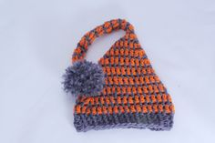Stocking Baby Hat / 0 to 3 Month /  Made to Order by MeganFallow, $20.00