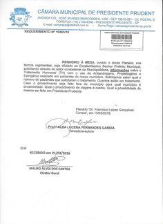 Profª Alba Lucena: Requerimento Informações sobre Tratamento Hormonal...
