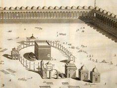 1000 years old makkah Mecca Madinah, Mecca Kaaba, Islamic Images, Islamic Pictures, Masjid Haram, History Of Islam, Mekkah, Beautiful Mosques, Islamic Art Calligraphy