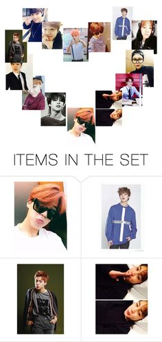 """""""I love Jimin"""" by kpopaholic ❤ liked on Polyvore featuring art, love and jiminbts"""