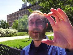 A Michigan State University research team has finally created a truly transparent solar panel — a breakthrough that could soon usher in a world where windows, panes of glass, and even entire buildings could be used to generate solar energy. .transparent solar cell