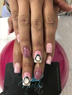 Acrylic nails, Christmas nails, nails art