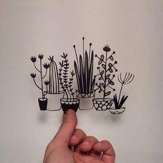 Papel art by Bibiana Carol