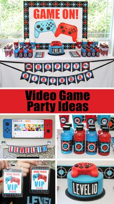 Video Game Truck Birthday Party – 5M Creations Blog