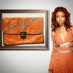 Bolsa Arezzo Croco  Média    Atendimentoc / ⌚ marcada ☎ WhatsApp + 55 31 8729-0249   #uohbrecho #brecho #tendencia  #fashion #style #croco #me #love #cool #picoftheday #bolsa #instagood #pretty #orange #bag #blogger #igers #life #yolo #deusnocomando