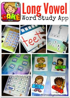 Long Vowel Word Study App - Now Available for Purchase | This Reading Mama