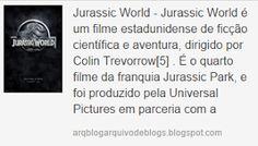 agregador edihitt: Jurassic World