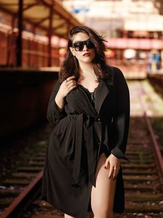 437aeeb1c95 Introducing Nadia Aboulhosn collection exclusively for Addition Elle. Plus  size blogger
