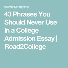 essay on why i should be accepted into college Best answer: you will deeply appreciate and take advantage of the opportunities that college provides to learn and develop in terms of yourself within society and in terms of your future career goals.