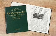 Anniversary Edition Newspaper Book