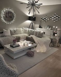 - Modern Interior Designs - 54 Reading Room Decor Inspiration to Make You Cozy Design # Декор. 54 Reading Room Decor Inspiration to Make You Cozy Design # Декор гостиной команты Reading Room Decor, Living Room Decor Cozy, Living Room On A Budget, Living Room Colors, Living Room Interior, Home Interior Design, Living Room Furniture, Living Room Designs, Interior Livingroom