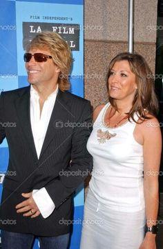 Jon Bon Jovi and wife Dorothea