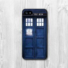Tardis Doctor who - iPhone 5 case, iPhone 5 hard cover, Tardis, Dr Who cover skin case for iphone 5 cases on Etsy, $6.99. I NEED it! And a screen protector.