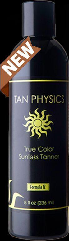 Tan Physics True Color Sunless Self Tanner Sun Less Tanning Lotion - FRESH STOCK…