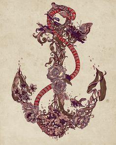 anchor drawing | Tumblr