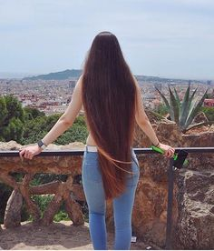 Long Red Hair, Long Natural Hair, Super Long Hair, Dark Hair, Natural Hair Styles, Long Hair Styles, Thick Hair, Hair Heaven, Hair Growth Tips