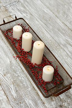 29.99 SALE PRICE! Use the Wire Tray to construct the perfect, rustic centerpiece. This versatile tray has a sturdy metal frame with a mesh center and has an ...