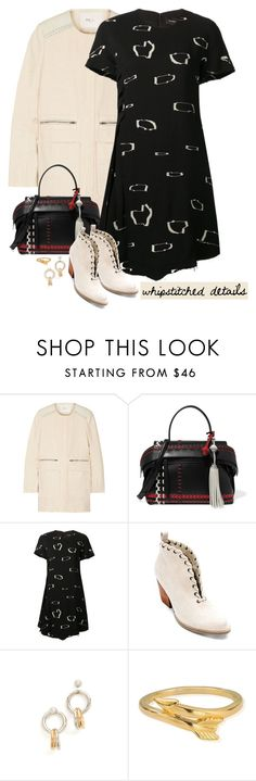 """""""Whipstitched Details"""" by musicfriend1 ❤ liked on Polyvore featuring Maje, Tod's, Proenza Schouler, Matisse, Alexander Wang and ChloBo"""