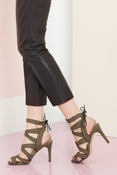 Caged high heel sandals | Sole Society Stella