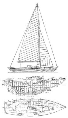 The Nordic Folkboat is known for these qualities: uncomplicated, ease of handling, and good performance in all conditions. Born from a design contest with 4 winners, a young naval architect, Tord Sundén, amalgamated these designs into 'the boat of the people'. McC