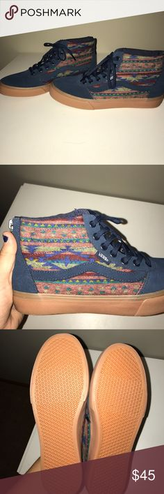 Vans high tops Fits true to size, worn two times max? Vans Shoes Sneakers