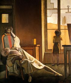 """last-picture-show: """"""""Balthus, The Week with Four Thursdays, 1949 """" """""""