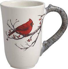 Dolomite Woodland Cardinal Mug