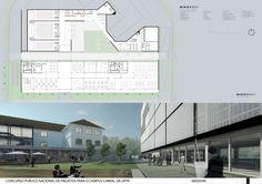 2º Lugar: Campus Cabral – UFPR / Jobim.Carlevaro.Rotolo Arquitetos,Prancha 04