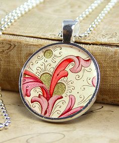 Silver Luxe Photo Jewelry Round Pendant Kit by Annie Howes on #zulily