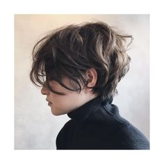 Hair styling can be regarded as a distinctive talent. Short messy pixie hair appears awesome whenever the locks are straight. Short hair is simpler to look after. Short Curly Hair, Short Hair Cuts, Curly Hair Styles, Pixie Cuts, Short Wavy, Pixie Wavy Hair, Short Messy Bob, Short Hair Tomboy, Thick Hair