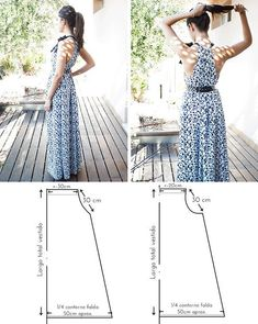 The hands (Creativity, Sewing, Patterns) we Sew a sundress