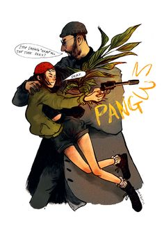 Leon the Professional by Nuria Tamarit