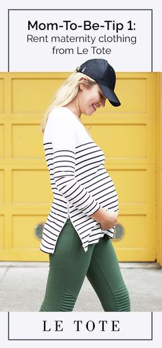 Sign up for as low as $69 a month and rent your maternity clothing you'll need. From week 12 to week 40 and everything in between. Get your maternity fashion delivered to your door. Sign up for Le Tote Maternity today!