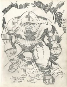 Juggernaut by Jack Kirby