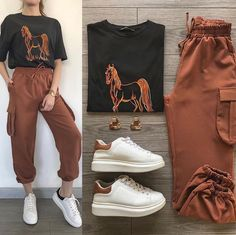 Casual Hijab Outfit, Cute Casual Outfits, Swag Outfits, Simple Outfits, Stylish Outfits, Teen Fashion Outfits, Outfits For Teens, Mode Grunge, Teenager Outfits