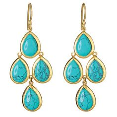 @Eden Claire i love these! But with blue tourmaline? and with more drops…perhaps some without the stones…