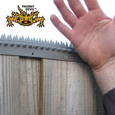 Fence Spikes - L Section - Voyce Holdings P/L T/AS Easy Pest Supplies