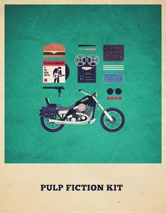 Movies Hipster Kits by Alizée Lafon, via Behance