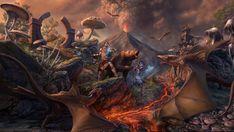 Volcano Wallpaper, Skyrim Game, Overwatch Video Game, Sea Of Thieves, Online Battle, Wallpaper Online, 1080p Wallpaper, Kinds Of Story, Video Games Xbox