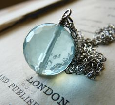 """""""Spring Rains will come again - necklace by Faeriedtreasures on Etsy.... Simply exquisite jewelry.  Luv it!"""
