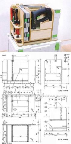 DIY Systainer Tool Caddy Insert - Workshop Solutions Projects, Tips and Tricks | WoodArchivist.com