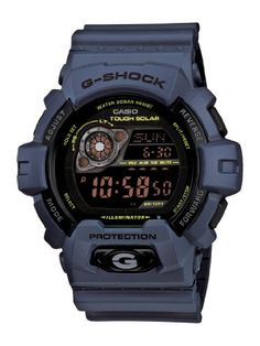 Men's Wrist Watches - Casio Mens GR8900NV2 GShock Tough Solar Power Military Navy Digital Watch >>> See this great product.