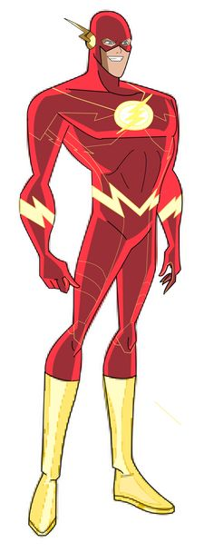 The Flash Bruce Timm style new look Justice League Animated, Justice League Characters, Dc Comics Characters, Dc Comics Art, Marvel Dc Comics, Flash Comics, Thor Marvel, Wally West, Bruce Timm