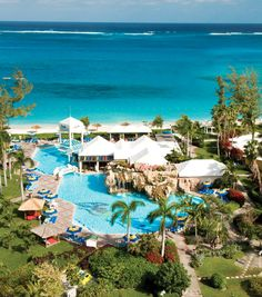 Beaches Turks & Caicos- this is a Sandals resort for families. So when the