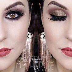 Bruna Malheiros: Maquiagem Bronze + Batom Marsala