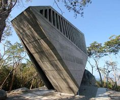 Sunset Chapel by Bunker Arquitectura #architecture #religious-buildings