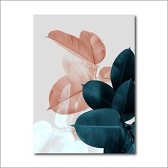 Lush Pink Floral And Green Leaves Botany Wall Art Fine Art Canvas Prints Nordic Style Pictures For Bedroom Living Room Interior Decor Canvas Art Prints, Canvas Wall Art, Wall Art Prints, Canvas Paintings, Canvas Frame, Art Mural Floral, Botanical Wall Art, Leaf Art, Modern Prints