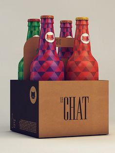 Le Chat by Isabela Rodrigues, via Behance