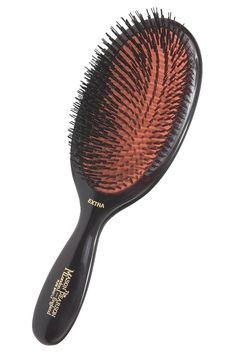 If ever there were a brush worth splurging on, this pricey English import is it. Mason Pearson Extra Large Boar Bristle Hair Brush, $325; bergdorfgoodman.com   - MarieClaire.com