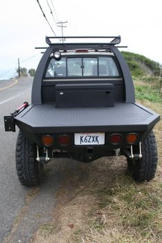 Toyospearo's FLATBED build... - YotaTech Forums Mini Trucks, Ford Trucks, Pickup Trucks, Truck Flatbeds, Truck Boxes, Custom Truck Beds, Custom Trucks, Custom Ute Trays, Flatbed Truck Beds